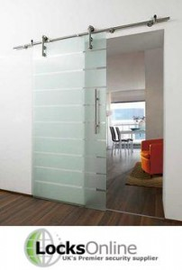 Glass sliding door - Locks Online
