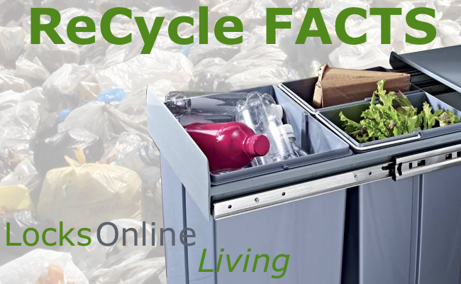 Recycling at home facts - LocksOnline