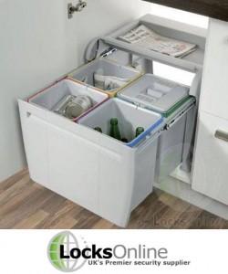 pull out waste bin - LocksOnline