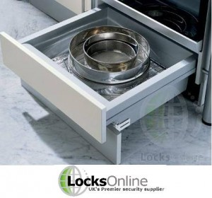 Locks Online - Kitchen design ideas Plinth drawer