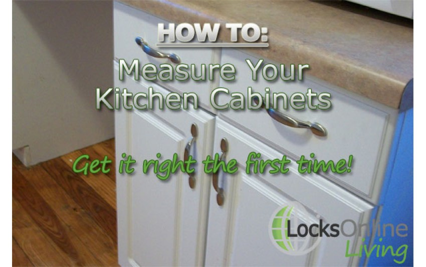 How to Measure Cabinets