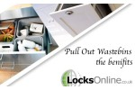The benefits of pull out waste bins–A Locks Online Exclusive