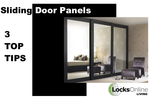 Sliding door panels – The 3 features to choose from