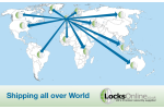 Overseas delivery with Locksonline.com