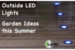 Outdoor LED Lights – Garden ideas this summer