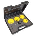 C.K Hole Saw Kit For Downlighters 6 Piece