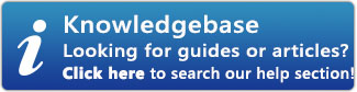 Find answers in our Knowledgebase