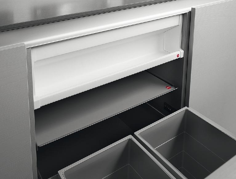 Hailo Deposito Space-Saving Undersink Storage Rack