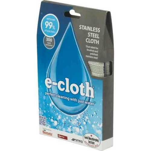 E-Cloth Kitchen Cleaning Kit for Stainless Steel Surfaces
