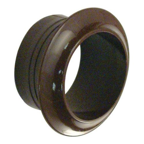 Push Lock Rosette for 19mm and 25mm Push Lock Knobs - Brown Finish