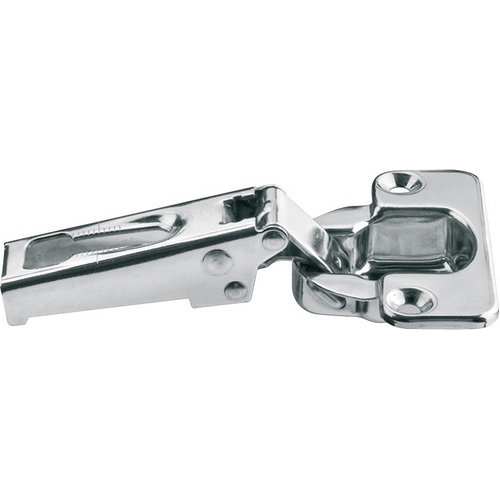 Image of 100 Degree Stainless Steel Hinge, Full Overlay Mounting