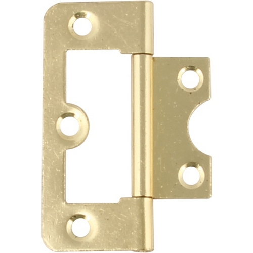105 Flush hinge, steel, 60 x 26 mm