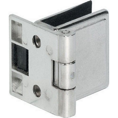 No-Drill 4-5mm Glass Door Hinge