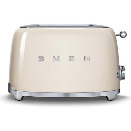 Smeg 2 slice toaster with 2 large slots, 50's Retro style