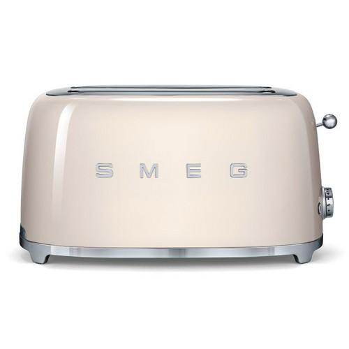 Smeg 4 slice toaster with 2 large slots, 50's Retro style