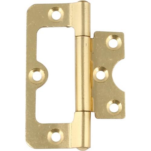 Image of 104 Hurlinge flush hinge, mild steel, 76 x 34 mm