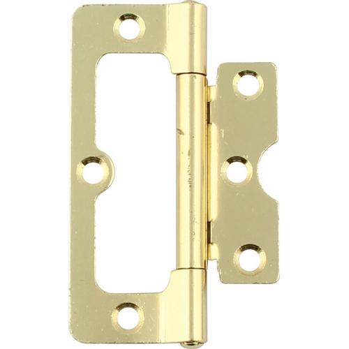 Image of 104 Hurlinge flush hinge, mild steel, 102 x 41 mm