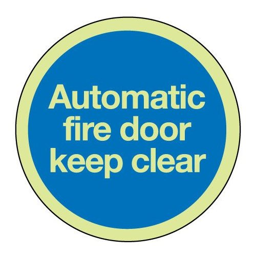 Compare retail prices of 'Automatic Fire Door Keep Clear' Mandatory Sign to get the best deal online