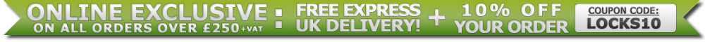 10% OFF & FREE EXPRESS DELIVERY ON ORDERS OVER �250 + VAT!